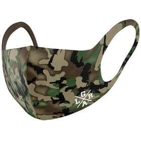 Loose Riders Face Mask, camo forest